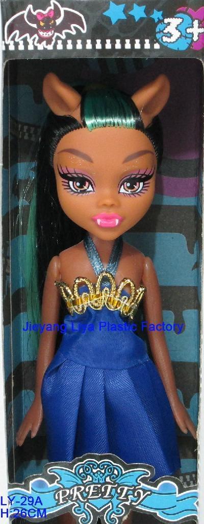 Plastic Fashion Music High Doll For Girls 5