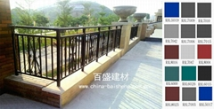 Galvanized steel balcony fence/(BSBS)