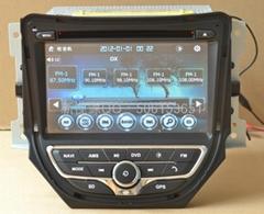 长安CS35七寸专车专用长安系列CS35标配8寸屏dvd导航仪一体机