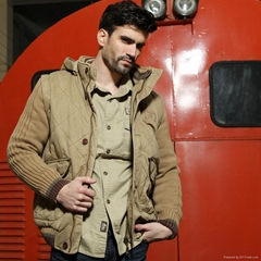 New brand Vergucee sweater for men with hood