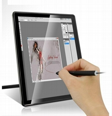 15'' LED interactiv capacitive drawing tablet mornitor multi-dual touch panel