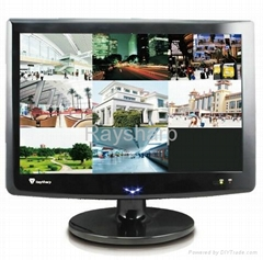 4/8CH DVR with 19 inches touch LCD monitor