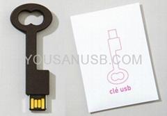 PVC Retro Skeleton Key USB Drive