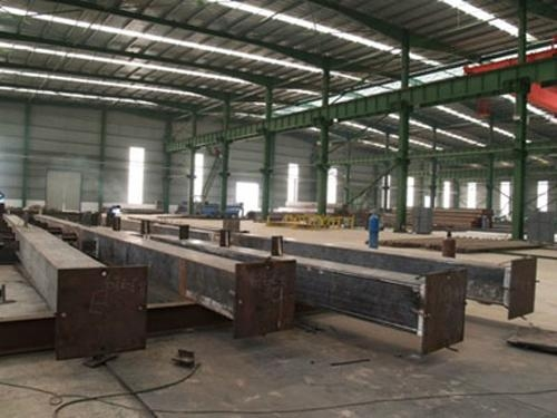 Steel box beam steel column steel compoments dlss0601 for How to build a box beam