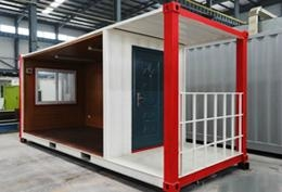 integrated housing20/40 feet folding  container house  2
