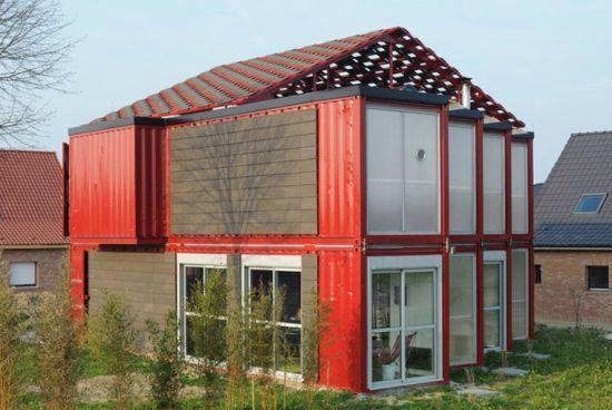 integrated housing20/40 feet folding  container house  3