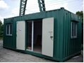 integrated housing20/40 feet folding  container house  5