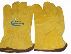 皮制焊接手套