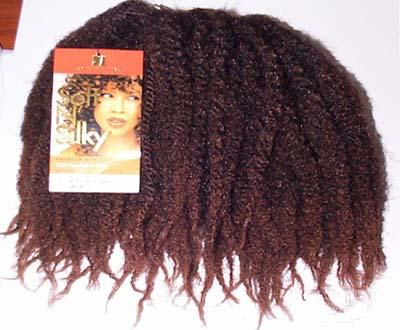Kinky Afro Human Hair Extensions 35