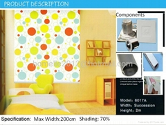 Wholesale - China Latest Modern 6017 designs Roller Blackout for Windows