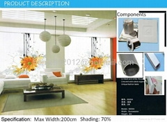 Wholesale - China Latest Modern 6026 designs Roller Blackout for Windows