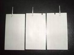 Titanium platinized sheet anode