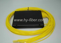 Fiber Optical Fused splitter 1x16,SM without connector,cable length 1m