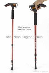 Multifunction Walking Stick with flash light