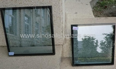 Low E insulating glass curtain wall