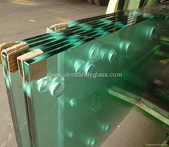 19mm clear tempered Glass