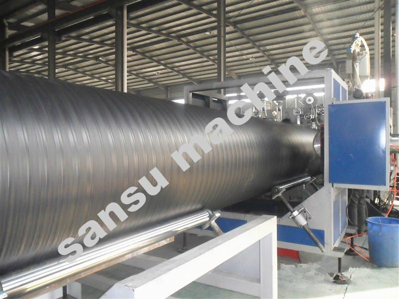 钢塑复合缠绕管生产线 1