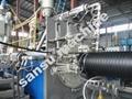 双平壁钢塑复合缠绕排水管设备