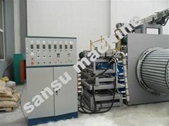 双平壁钢塑复合排污排水管设备