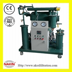 Series ZY-70 Single stage transformer oil purifier