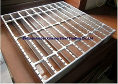 Slip-resist Serrated Steel Gratings