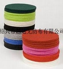 (彩色毛氈布)針刺棉針刺無紡布毛氈供應
