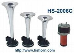 ABS TRI-TONE AIR HORN W/COMPRESSOR (HS-2006C)