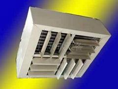 Four direction wind Vertical Unit Heaters