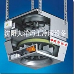 DKR type large space circulation unit heater