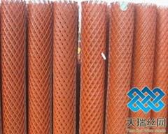 喷塑菱形钢板网