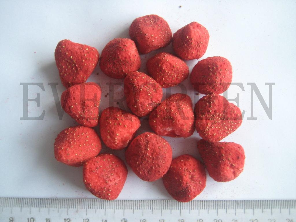 Freeze Drying Strawberries Freeze Dried Strawberry 1