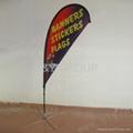advertising beach flag feather flag blade flag