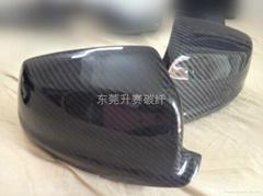 寶馬新5系 F30碳纖維後視鏡罩
