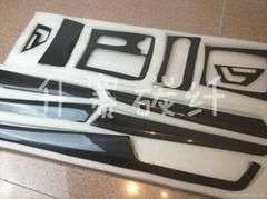 Benz W204 碳纤内饰