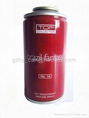 Shave Cream Aerosol Tin Can