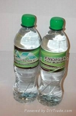 pvc shrink sleeve label for water