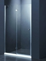Simple cheap shower door D-13