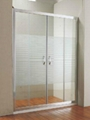 Simple cheap shower door D-05