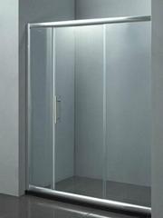 Simple Bathroom Shower Doors D-15