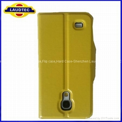 High Quality Cheap Stand Leather Cover Case for Samsung i9500 Galaxy S4 mini,for