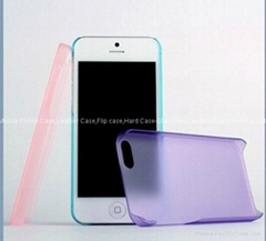 High Quality Crystal Clear Hard Case for iPhone 5 (Hot Product - 1*)