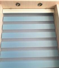 double roller fabric zebra blind