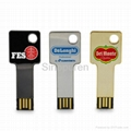 1GB metal corporate usb flash drive
