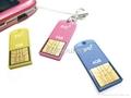 novelty shape usb flash drive in mini