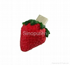 food shape usb flash driver in 2gb 4gb