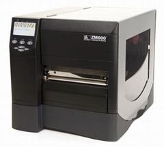 zebra zm600条码打印机 深圳标签打印机 斑马宽幅打印机