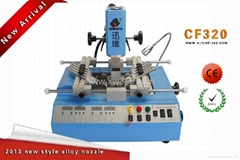 minitype CHINAFIX CF320 three temperature zones BGA reparing machine