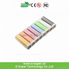 Best Sale 2200mAh High Quality Portable Lipstick Power Bank for Mobile Device