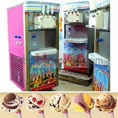HonKA Ice cream making machine with different tasts
