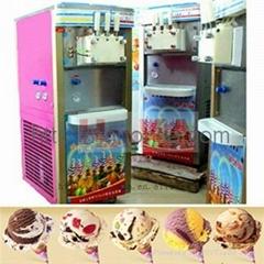 HonKA Ice cream making machine with different tasts